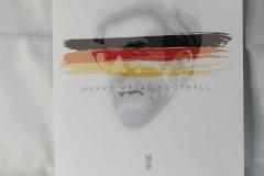Jürgen Klopp heavy metal football print