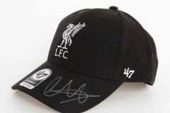 Signed TAA limited edition cap