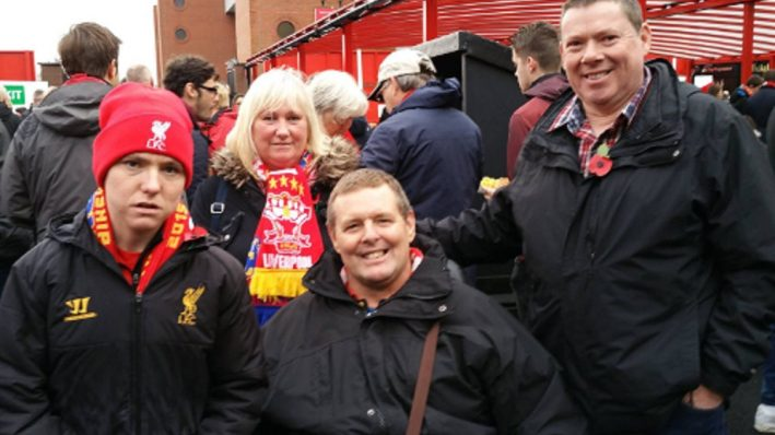 visit to anfield photo